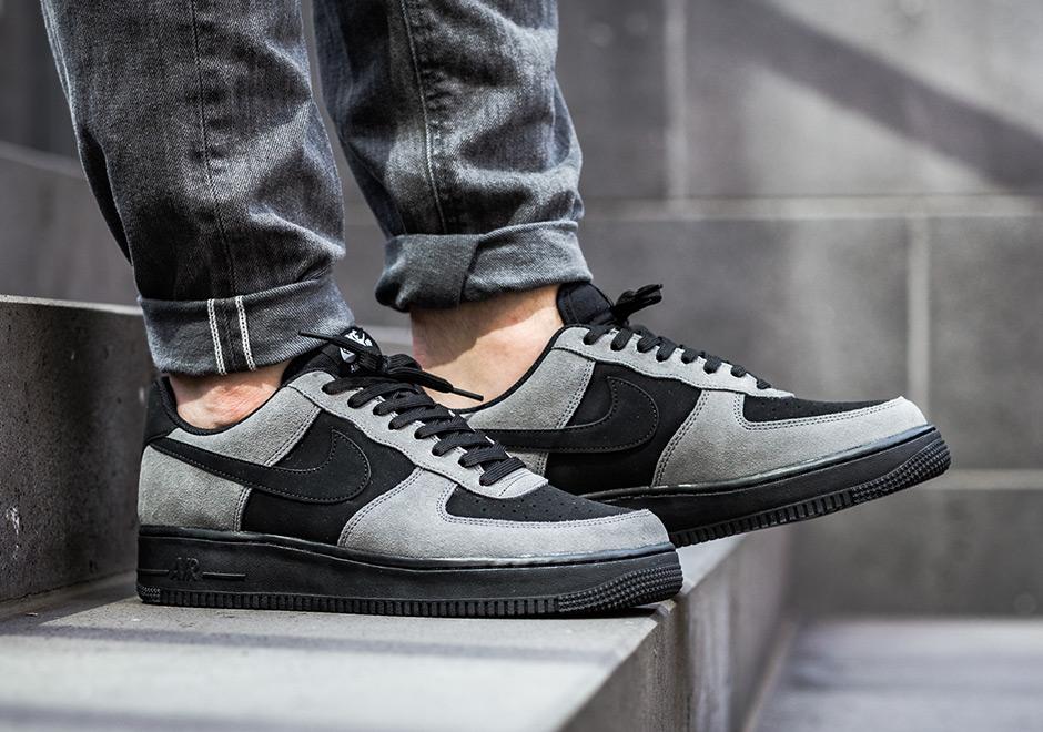 Dark 820266 020 Nike Air Grey Low Force 1 Black uwOkZPXiT