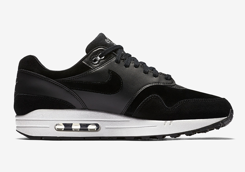 lowest price e45ed 2c5bb Nike Air Max 1 Premium AVAILABLE NOW AT Nike 110. Color BlackChrome-Off  White