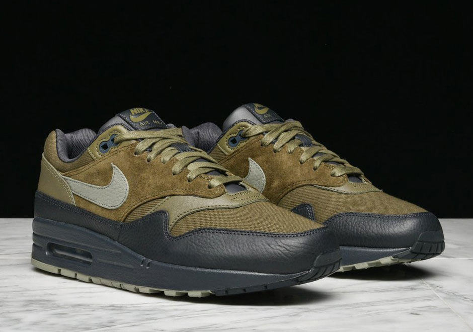 the latest 7a251 3c7e3 ... Nike Air Max 1 Premium AVAILABLE AT Jimmy Jazz 110. Color Medium  OliveDark Stucco- ...
