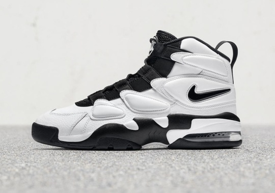 The Black And White Nike Air Max 2 Uptempo Releases August 1st