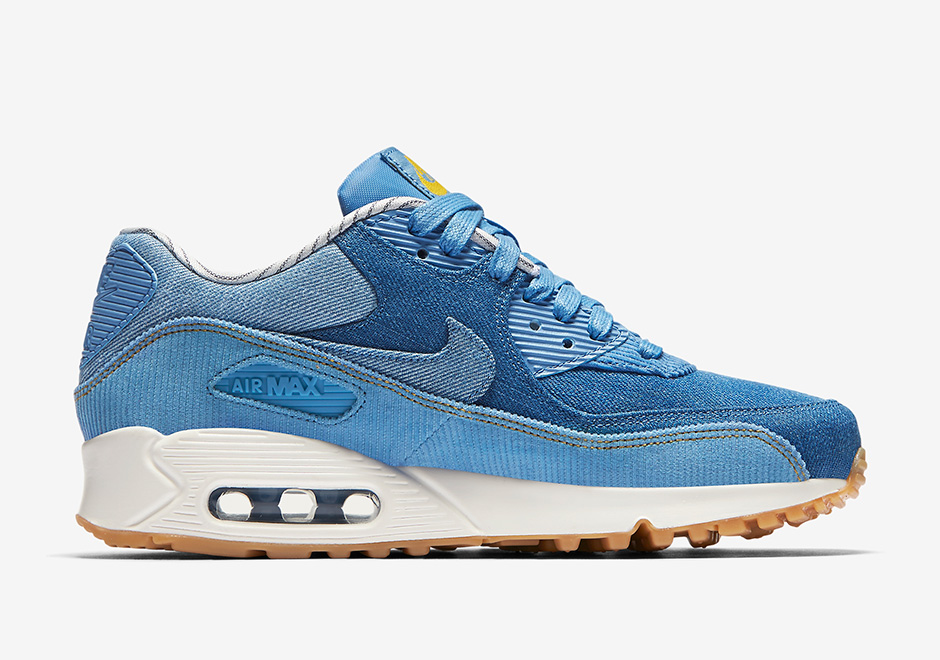 d90a77697306a8 Nike plans to release this denim and corduroy option in a simple light blue  with off-white midsoles and a classic gum outsole.