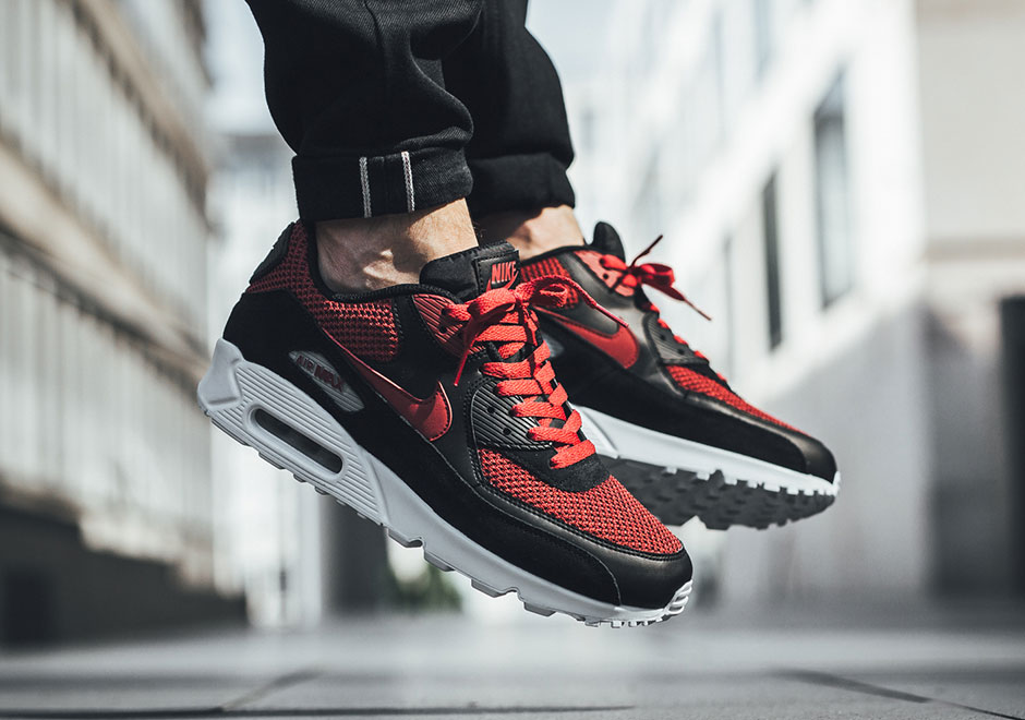 Nike Air Max 90 Black Tough Red 537384-076 | SneakerNews.com