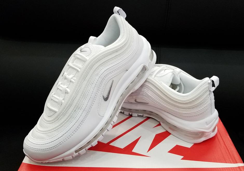 Nike Air Max 97 Triple White Release Date 921826 101