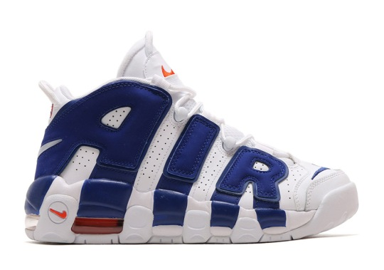 "Nike Air More Uptempo ""Knicks"" Releases On September 22nd"