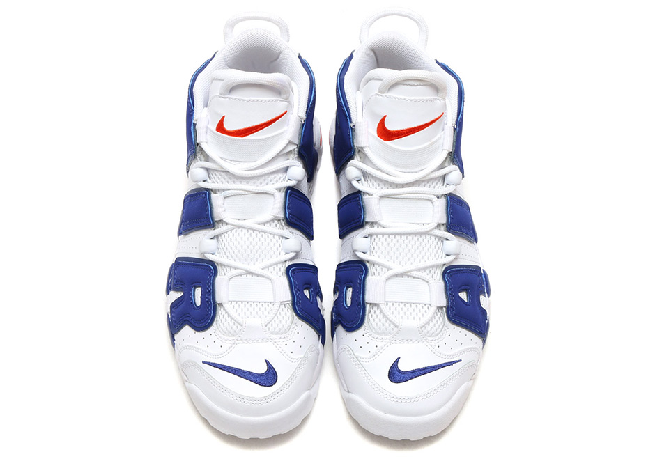 """83d16fa43bf Nike Air More Uptempo GS """"Knicks"""" Release Date  September 22nd"""