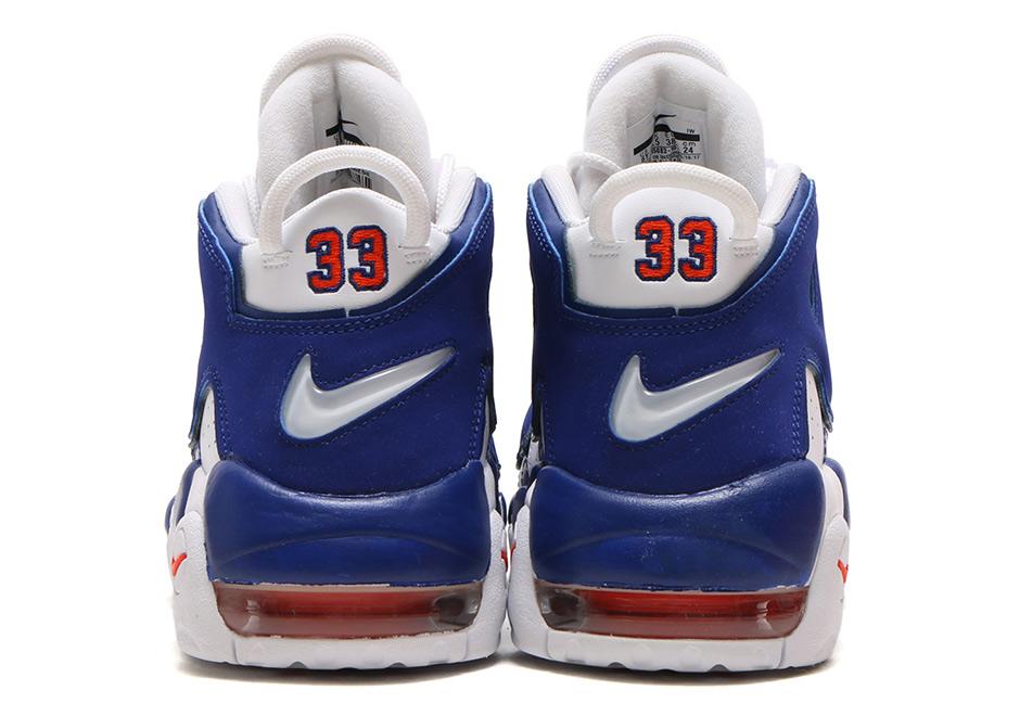 "0b8e627be047 Nike Air More Uptempo GS ""Knicks"" Release Date  September 22nd"