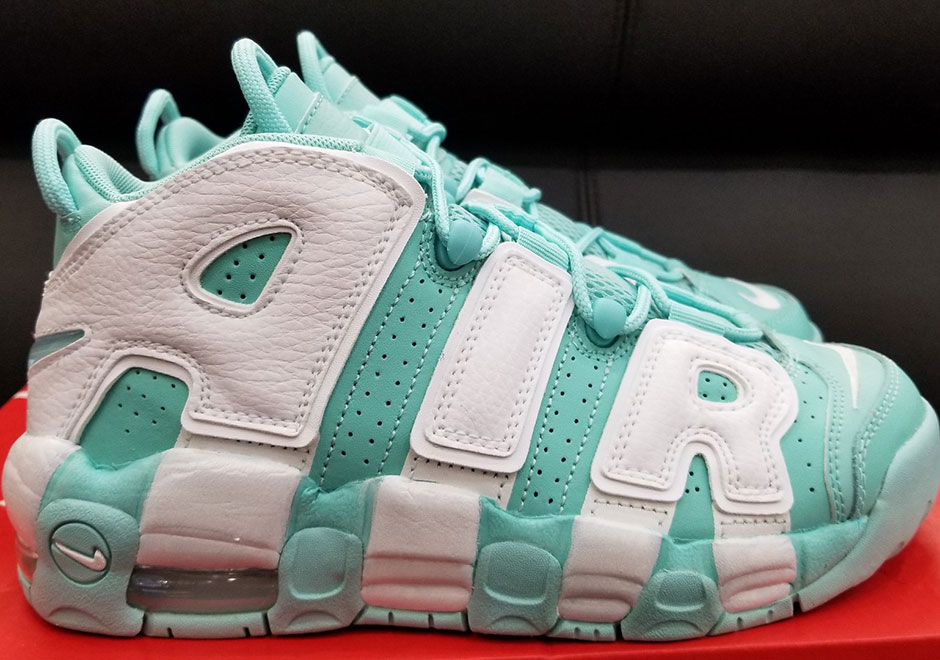 Nike Uptempo Mint Green