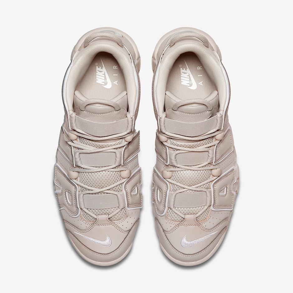 """best loved e7b51 0facd Nike Air More Uptempo """"Light Bone"""" Release Date  July 15th, 2017  (International) September (North America)  160. Color  Light Bone White-Light  Bone"""