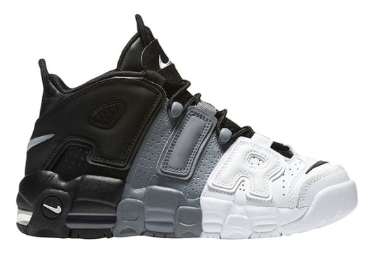 "Nike Air More Uptempo ""Tri-color"" Releasing In August"