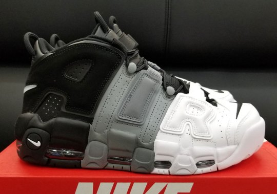 "Nike Air More Uptempo ""Tri-Color"" Is Coming Soon"