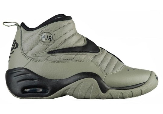 "The Nike Air Shake Ndestrukt Releasing In ""Cool Grey"" And ""Dark Stucco"""