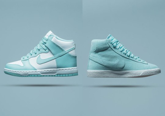 """Nike Is Releasing More Summer-Ready """"Island Green"""" Retros For Kids"""