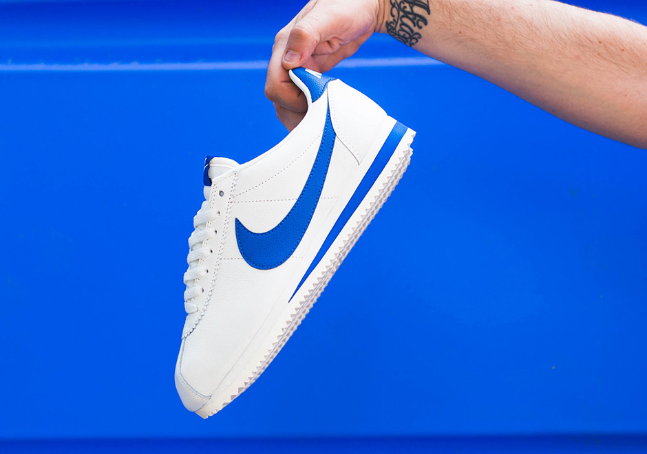 the latest 2f6c2 56b03 Nike Cortez Classic Blue Jay 861535-102 | SneakerNews.com