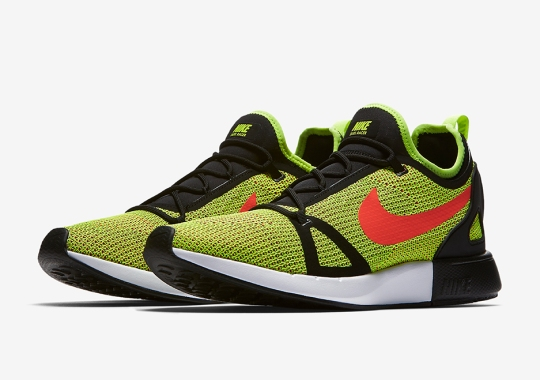 The Nike Duel Racer Is Releasing In Volt And Crimson