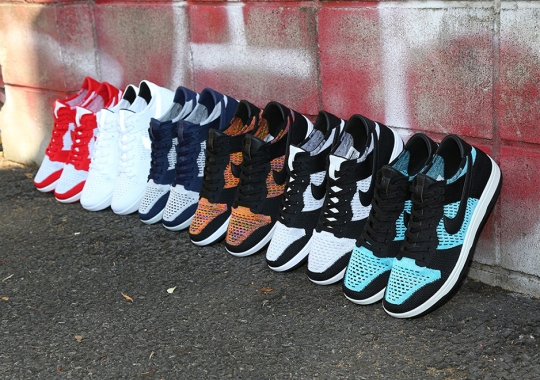 The Full Nike Dunk Flyknit Collection Is Revealed