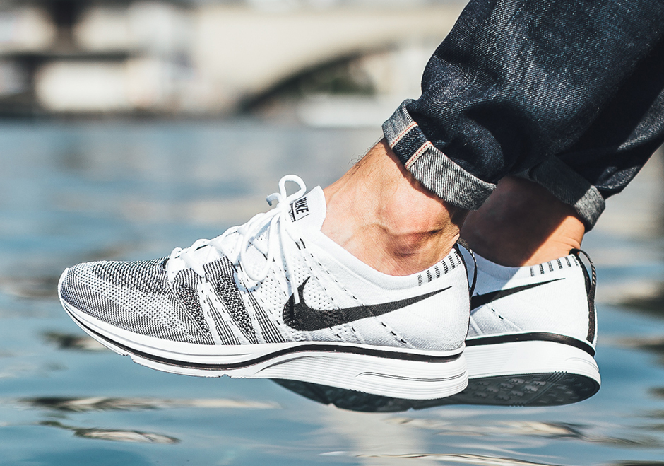 Nike Flyknit Trainer White Black AH8396-100 | SneakerNews.com