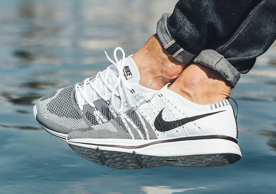 online store 5ee9d 1eebb Nike Flyknit Trainer Nike SNKRS/NikeLAB/Europe Release Date: July 27th,  2017. North America Release Date: August 24th, 2017. Color: White/ Black-White
