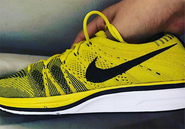 bcfe465d812ae best price nike flyknit trainer blue yellow ab032 c29a6  switzerland photos  dirtymoney823 545a2 ff53c
