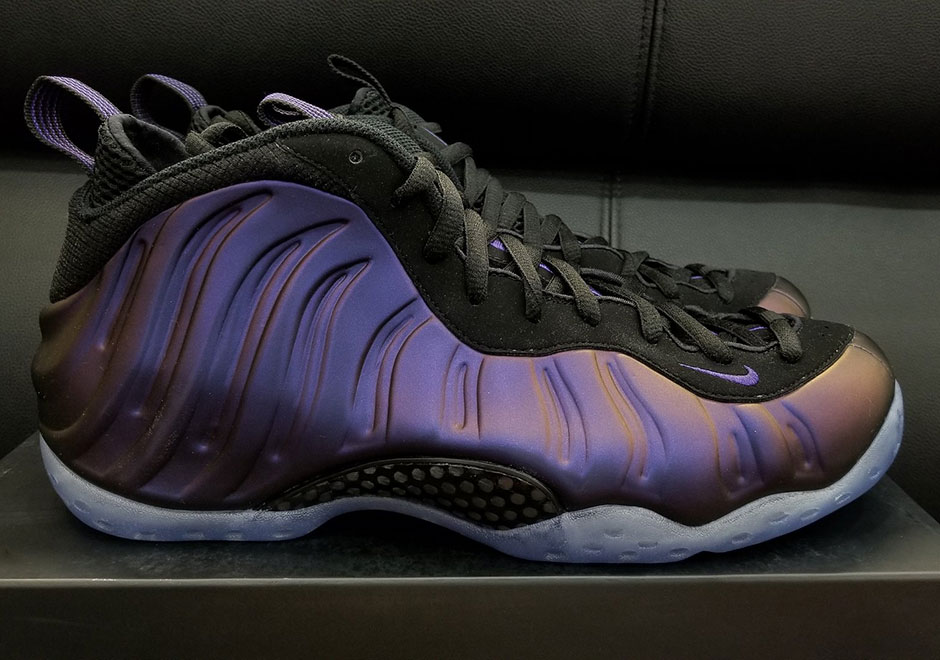 3ff047c95edf Eric Avar s iconic Foamposite design turned 20 years old once the calendar  turned over to 2017