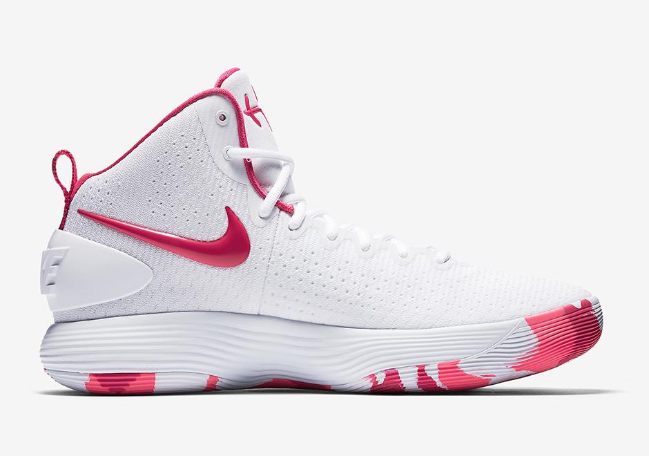 "d6074c2259d5 Nike React Hyperdunk 2017 ""Kay Yow"" AVAILABLE AT Nike  140. Style Code   897631-100. Advertisement"