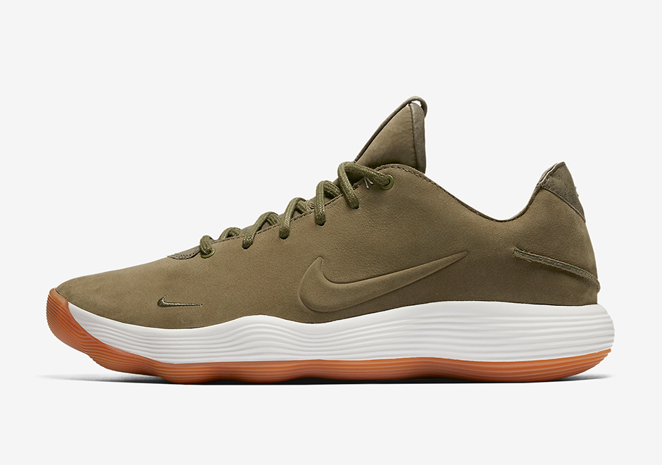 a0298d651eb Nike Hyperdunk 2017 Low Premium Release Date  Summer 2017. Color   Olive White-Gum Light Brown