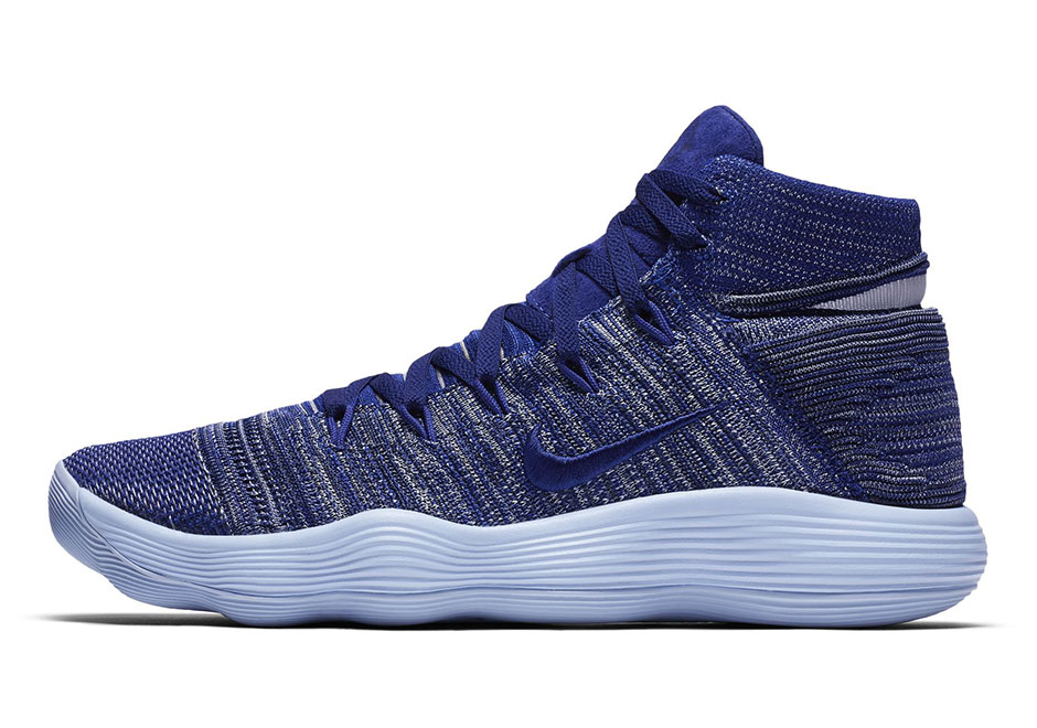 detailed look db086 2047a While we wait for a release date for this blue colorway, check out the  Cargo Khaki Hyperdunk 2017 Flyknit and the mesh version with color fades on  the ...