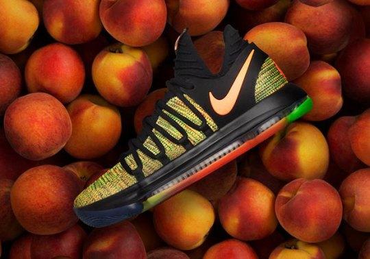 "Nike EYBL Reveals The KD 10 ""Peach Jam"" PE"
