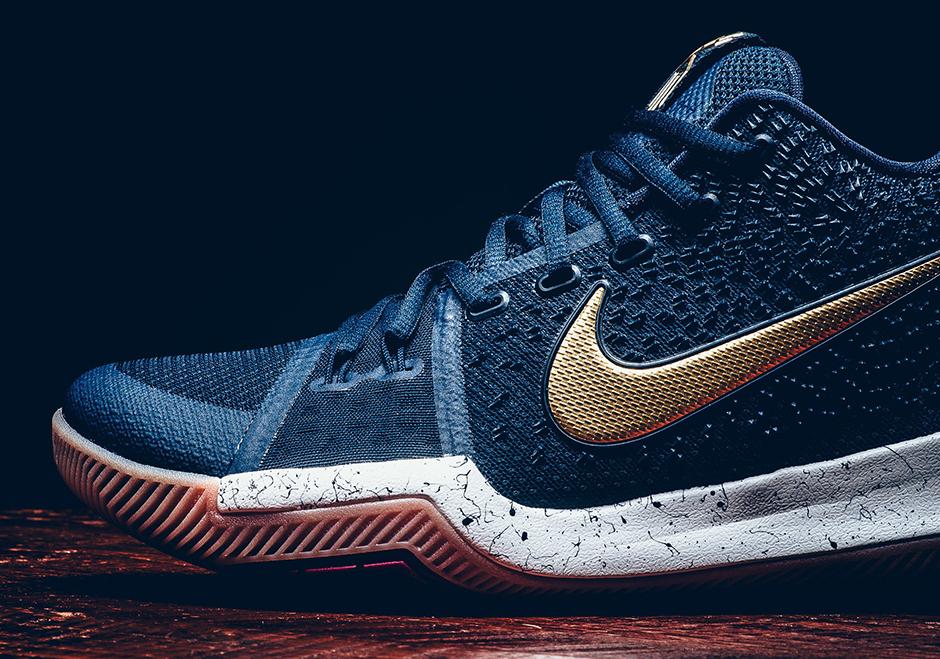 Nike Kyrie 3 Obsidian Release Date Info 852395 400