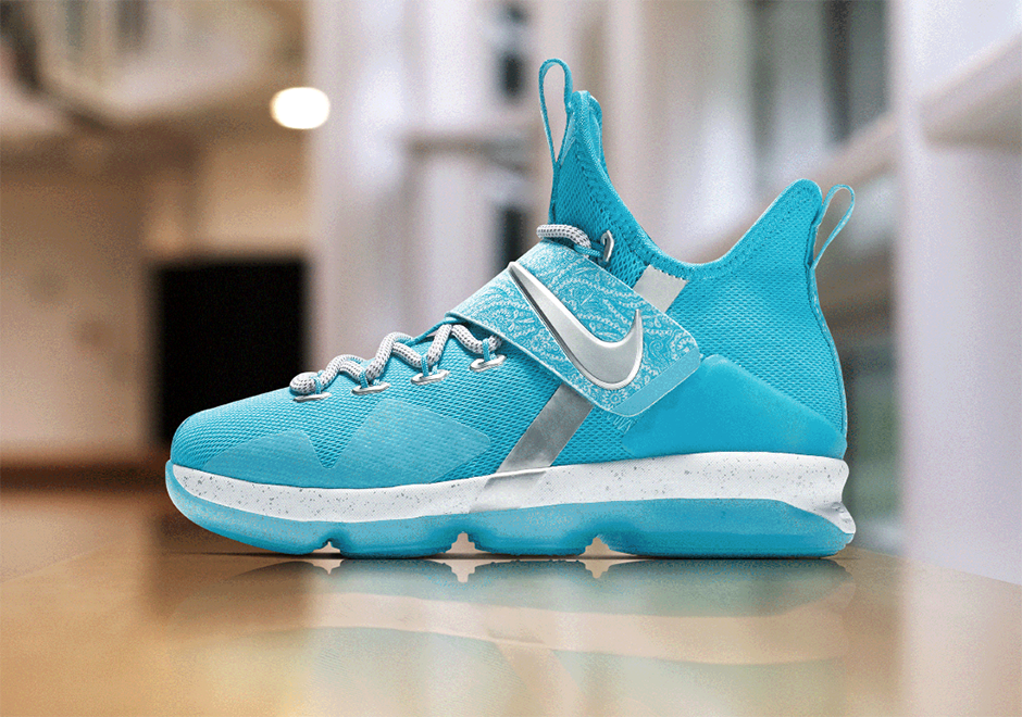 "ebe29f09cd77c Nike LeBron 14 GS ""Belt Pack"" AVAILABLE ON Nike.com  140(Each)"