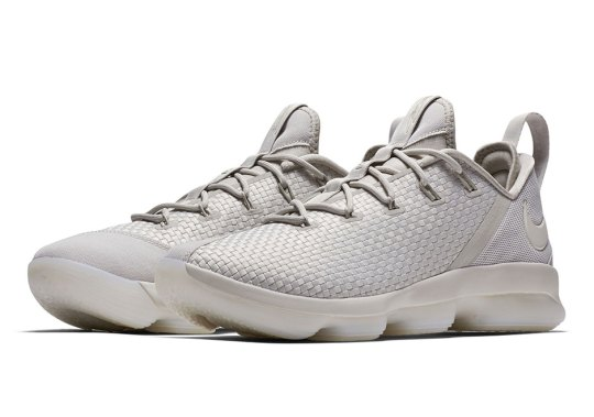 "Nike LeBron 14 Low ""Khaki"" Releasing This Summer"