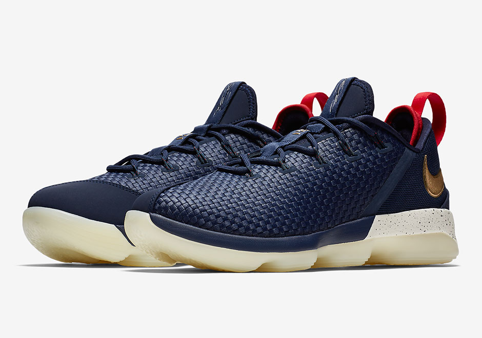 "Updated on September 5th, 2017 The Nike LeBron 14 Low ""USA"" is available  now at Nike."