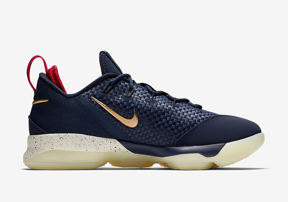 sports shoes e99cd 27737 ... promo code for nike lebron 14 low usa available at nike 150. color  midnight navy