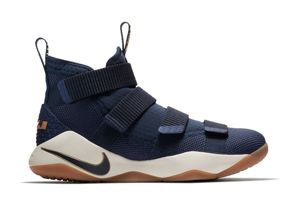 """b8c0d393411 Nike LeBron Soldier 11 """"Cavs Alternate"""" Release Date  August 1st"""