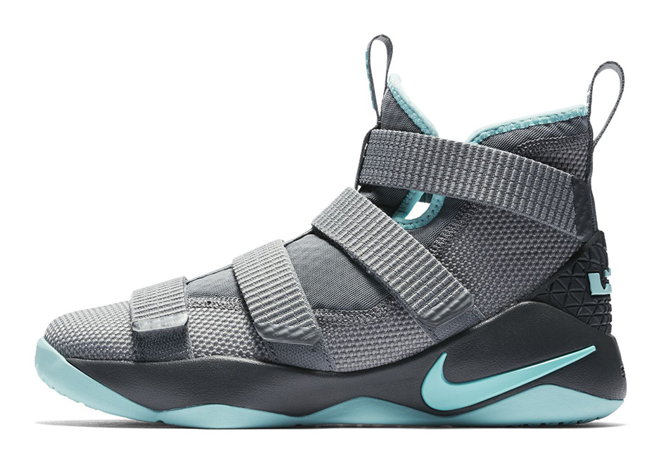 a4063d5cc83 ... cheap nike lebron soldier 11 gs available at kicks usa 110. color cool  grey anthracite discount men ...