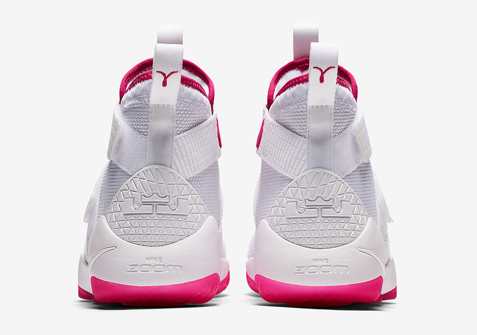 "Nike Continues Support Of Breast Cancer Awareness With LeBron Soldier 11 ""Kay Yow"""