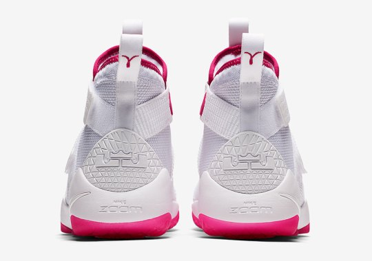 """Nike Continues Support Of Breast Cancer Awareness With LeBron Soldier 11 """"Kay Yow"""""""