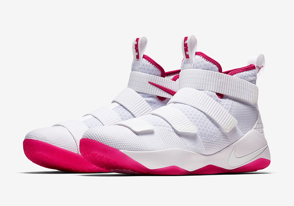 reputable site 48f9b 0d9ae Nike LeBron Soldier 11 Kay Yow Breast Cancer 897645-102 ...