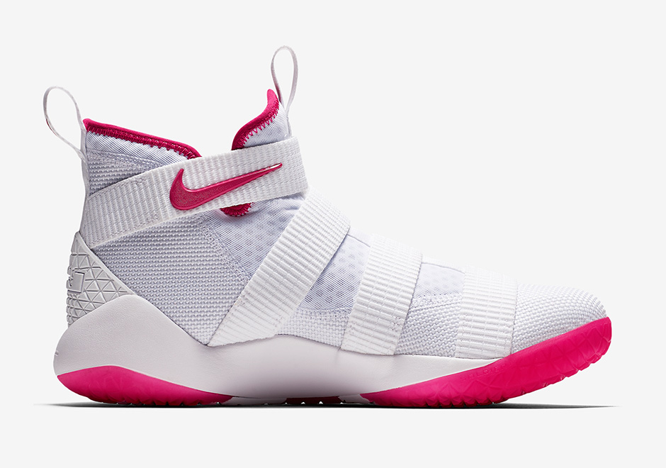 """1be4b089b0c Nike LeBron Soldier 11 """"Kay Yow"""" AVAILABLE AT Nike  130. Style Code   897645-102. Advertisement"""