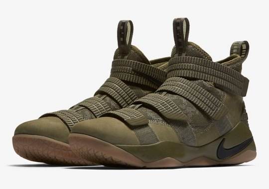 Military-Themed Nike LeBron Soldier 11 Coming Soon