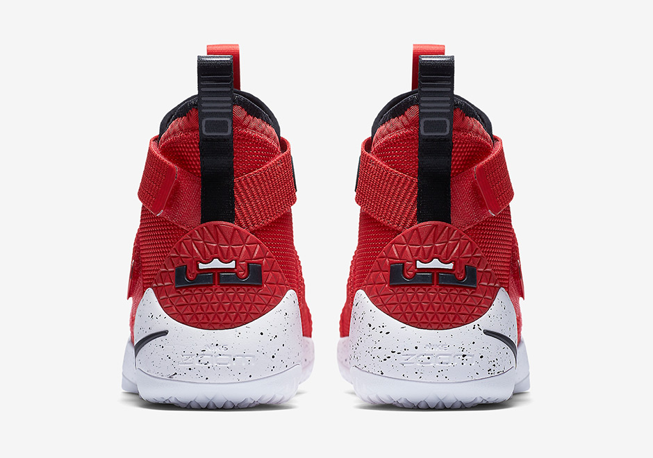official photos 12918 06752 Nike LeBron Soldier 11 University Red 897644-601 ...