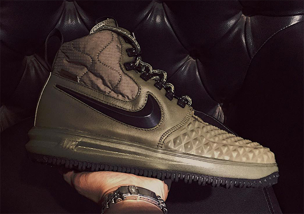 f5caa437631 ... Nike Lunar Force 1 Duckboots - Mens - All Black Black Brace yourselves