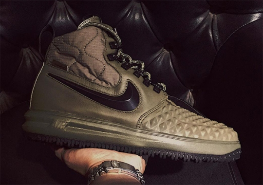 Nike Set To Release The Most Winter-Ready Lunar Force 1 Duckboot Yet