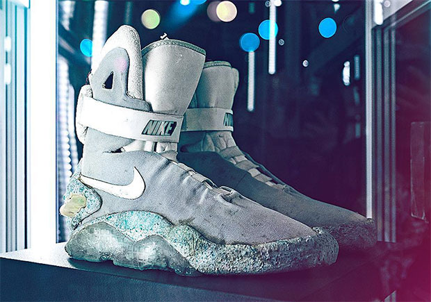 8e3bfd574ef Original Nike Mags From Back To The Future II To Be Auctioned This ...