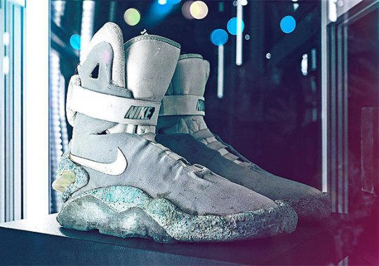 Original Nike Mags From Back To The Future II To Be Auctioned This Fall