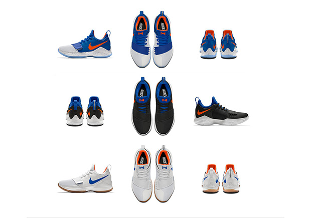 buy popular 07700 bbbde NIKEiD PG 1 OKC Thunder Color Options | SneakerNews.com