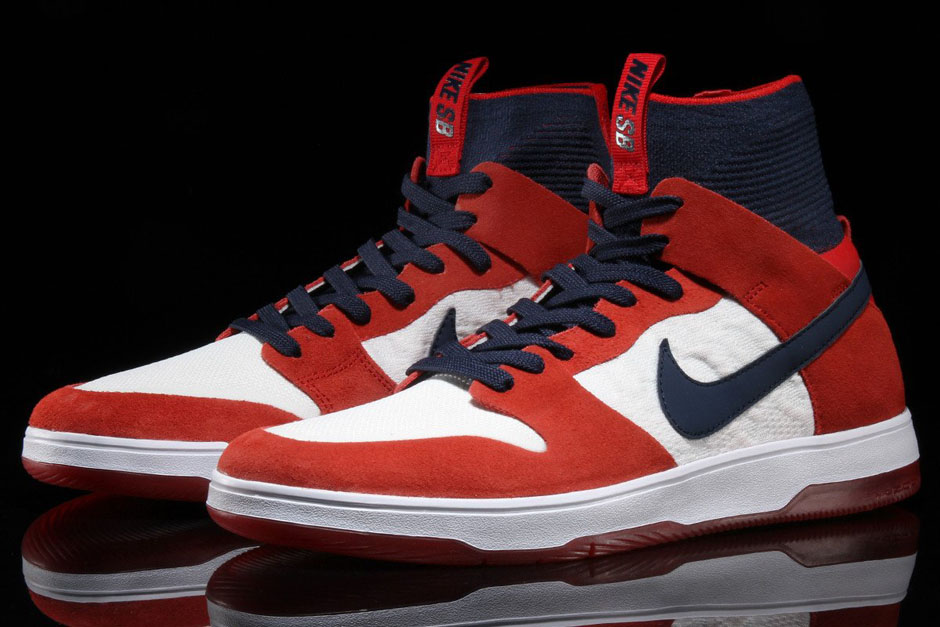 Nike Sb Dunk High Georgette De Red Elite XOdTsyeKWP