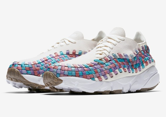 The Nike Air Footscape Woven Gets Multiple Pastel Tones