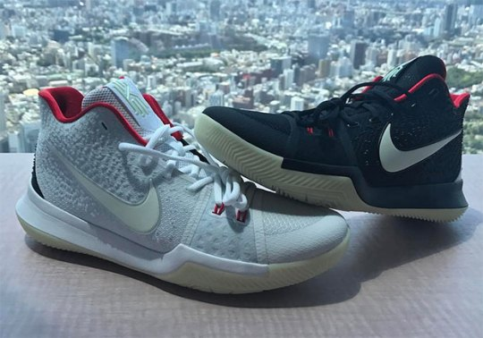 Kyrie Irving Reveals Air Yeezy-Inspired Kyrie 3 iD Colors