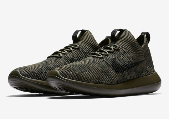 NikeLab Add Camo Prints To The Roshe Two Flyknit
