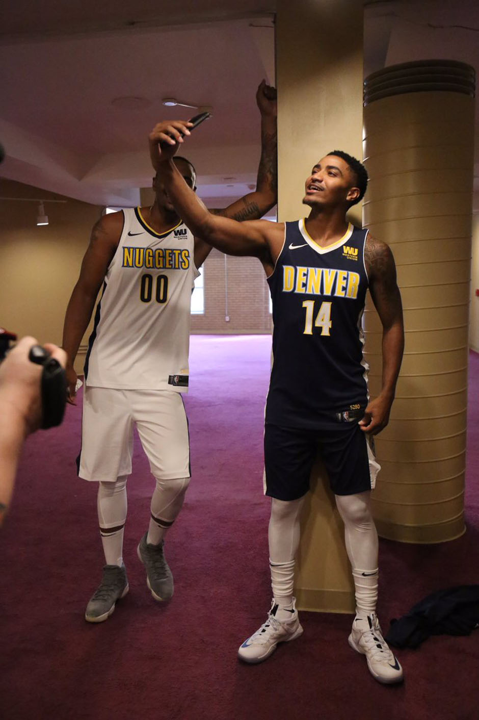 Nike NBA Uniforms 2017-2018 Season